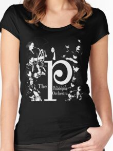 The Philadelphia Orchestra Women's Fitted Scoop T-Shirt
