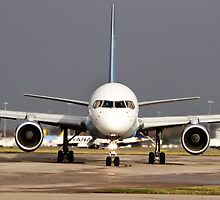 Thomas Cook 757 at Manchester Airport by PlaneMad1997