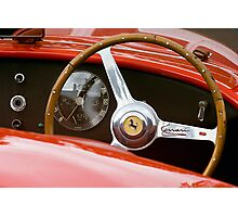 Ferrari Cockpit Photographic Print