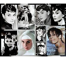 Tribute to Audrey  Photographic Print