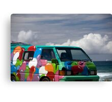 Colourful Transport Canvas Print