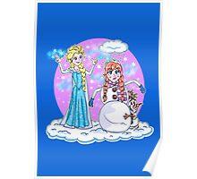Okay Let's Build A Snowman_Frozen Poster