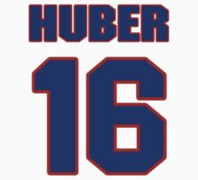 National baseball player Justin Huber jersey 16 by imsport