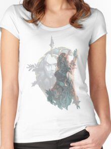 Sylvanas - Queen of the Undeads Women's Fitted Scoop T-Shirt