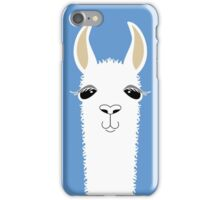 LLAMA PORTRAIT #4 iPhone Case/Skin