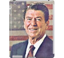 Patriot Ronald Reagan iPad Case/Skin