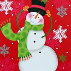Happy Snowman by Susan S. Kline