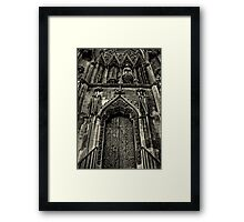 Door to Your Soul Framed Print