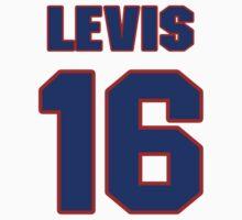 National baseball player Jesse Levis jersey 16 by imsport