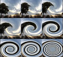 Earth/Sky Spin by JanG