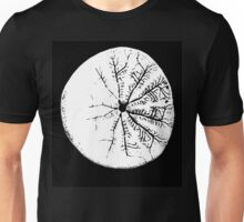 Sand dollar with enhanced contrast. Unisex T-Shirt