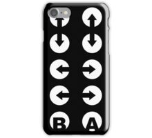 Konami Code T-Shirt iPhone Case/Skin