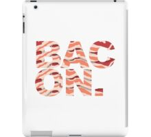Bacon t-shirt iPad Case/Skin