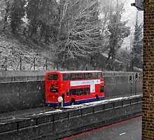 London Bus in Spring by Artway