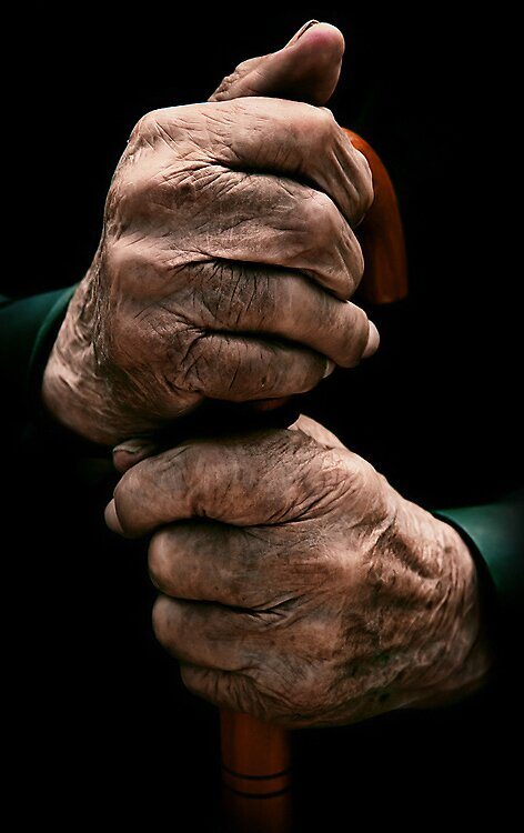 97 years old hands by Cristian Naidin