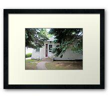 Cement Cottage Framed Print