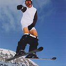 naked skiing by AliOrmerod