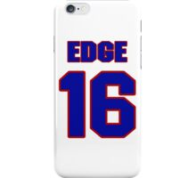 National baseball player Butch Edge jersey 16 iPhone Case/Skin