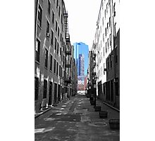 Alley in the North End Photographic Print