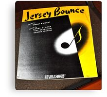 THE JERSEY BOUNCE Canvas Print