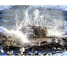 Crashing Wave Photographic Print