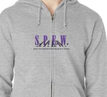 SPEW - Have you Hugged Your House Elf Zipped Hoodie