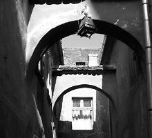 Sighisoara Tunnel by Stefan Koritar