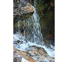 Water splashing Photographic Print