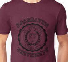 Roarhaven University (Black) Unisex T-Shirt