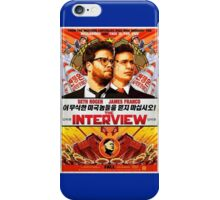 The Interview Poster iPhone Case/Skin