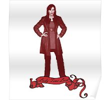Lady Time Lord (Donna) Poster