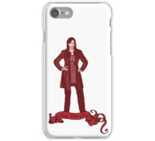 Lady Time Lord (Donna) iPhone Case/Skin