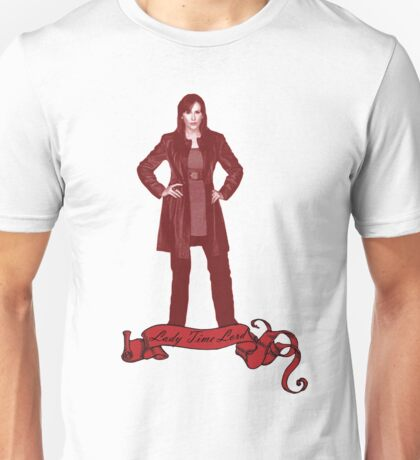 Lady Time Lord (Donna) Unisex T-Shirt