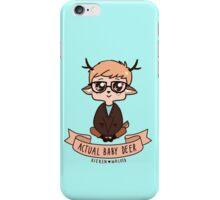 Actual bby deer iPhone Case/Skin