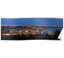 Tacoma at Night Poster