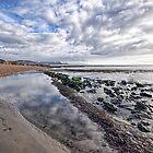 Church Beach 3 ~ Lyme Regis by Susie Peek