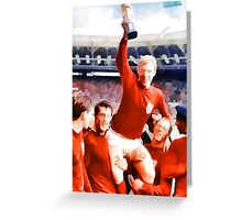England win the world cup in 1966 Greeting Card