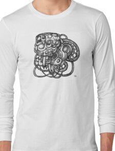 Mechanica cerebrum veritatem exquirit Long Sleeve T-Shirt