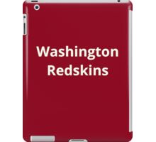 Washington Redskins iPad Case/Skin