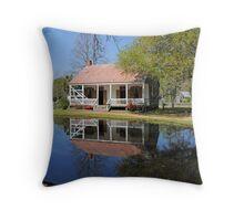 Acadian Village Throw Pillow