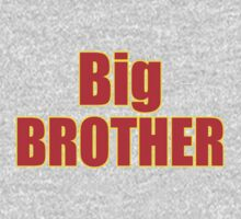 Big Brother Kids Clothing - T-Shirt One Piece - Long Sleeve