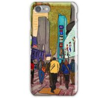 City Walkers iPhone Case/Skin