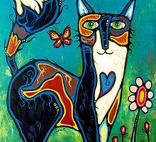Une danse avec les papillons by Claire Renaud
