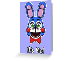 Five Nights at Freddy's Toy Bonnie - It's Me! Greeting Card