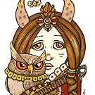 Owl Whisper by Anita Inverarity
