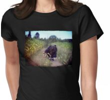 In the Spirit of Huckleberry Finn Womens Fitted T-Shirt