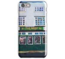 Hull, The Brief iPhone Case/Skin