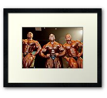 Muscle Show #4 Framed Print