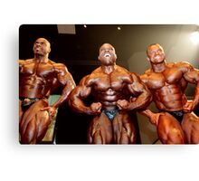 Muscle Show #4 Canvas Print