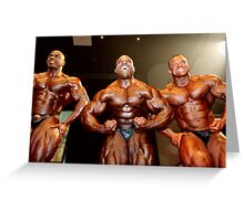 Muscle Show #4 Greeting Card